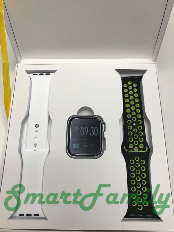 часы IWO 11 белые комплект