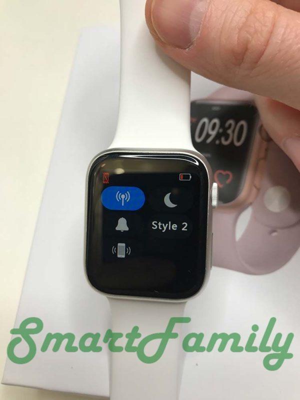smart watch IWO 11 меню