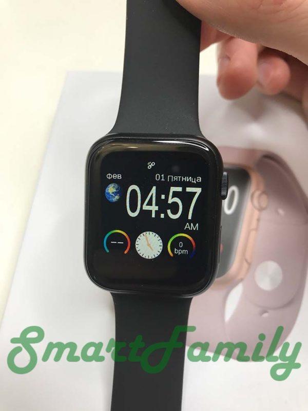 smart watch IWO 11 время