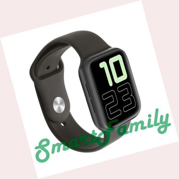 умные часы IWO 11 черные