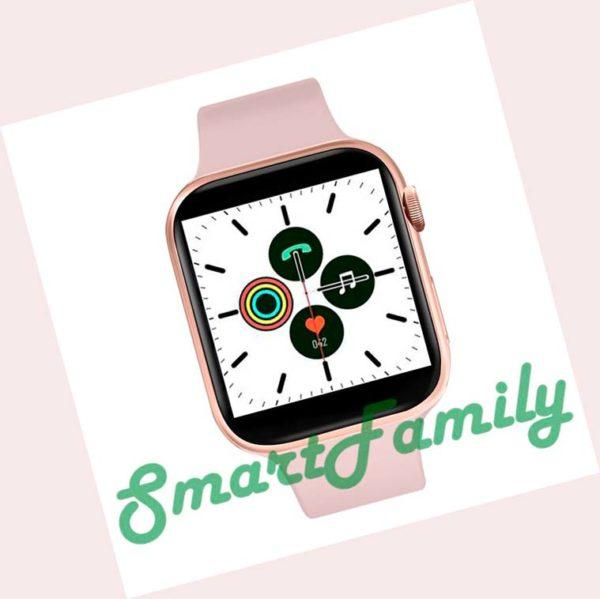умные часы IWO 11 розовые