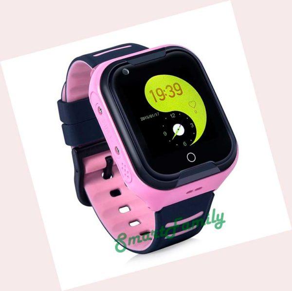 часы KT11 розовые