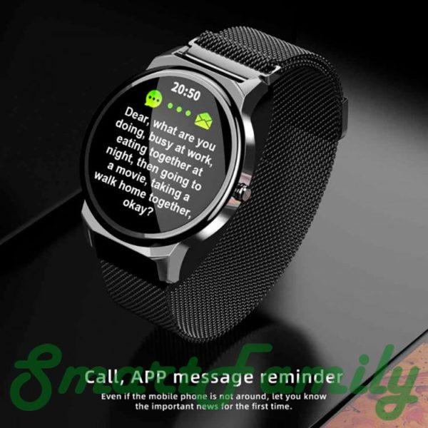 часы LEMFO ELF1 уведомления