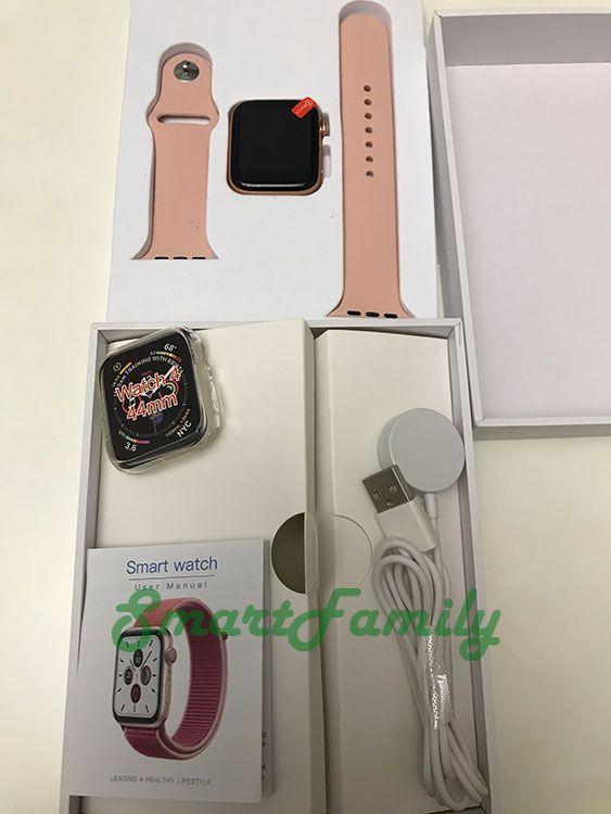 розовые часы IWO 12