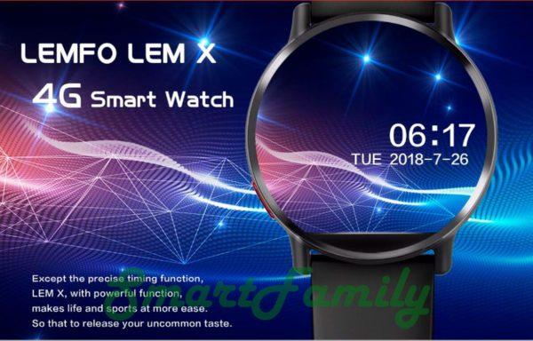 смарт часы 4G LEM X