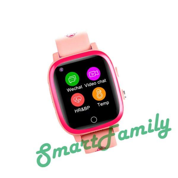 GPS часы T5S розовые