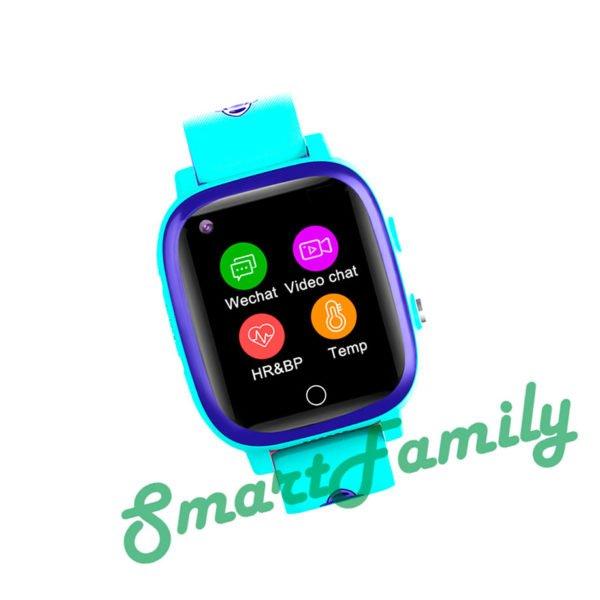 GPS часы T5S синие