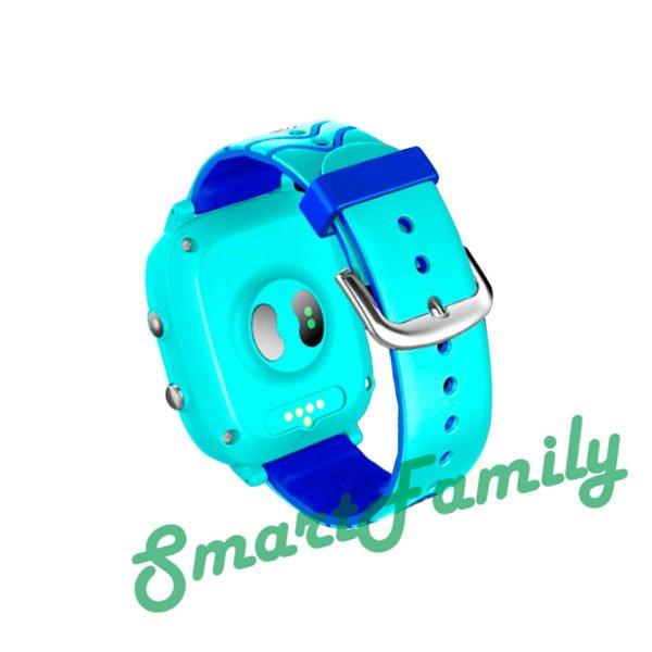 часы T5S градусник голубые