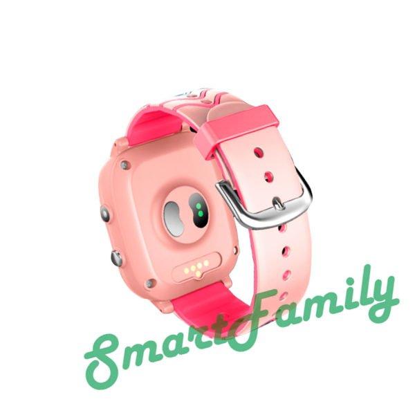 часы T5S градусник розовые