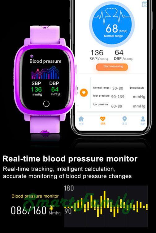часы T5S и измерением давления