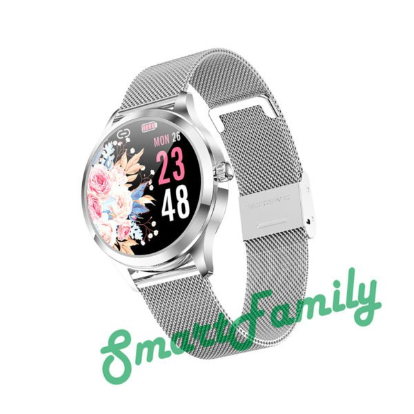 часы LW07 серебристые
