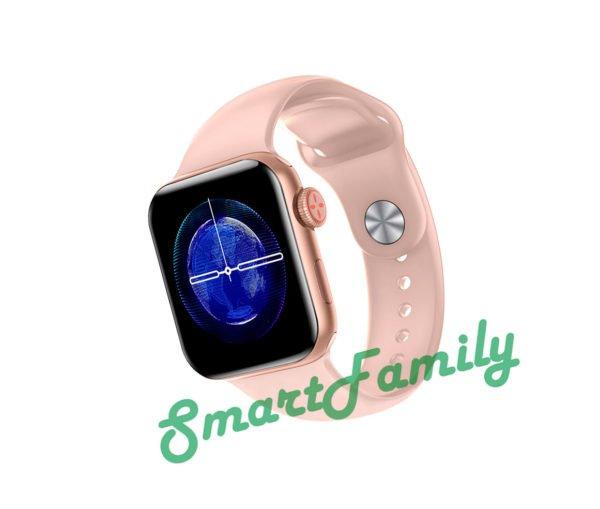 часы LW15 розовые