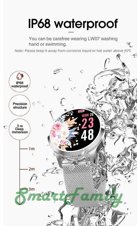 водонепроницаемые часы LW07