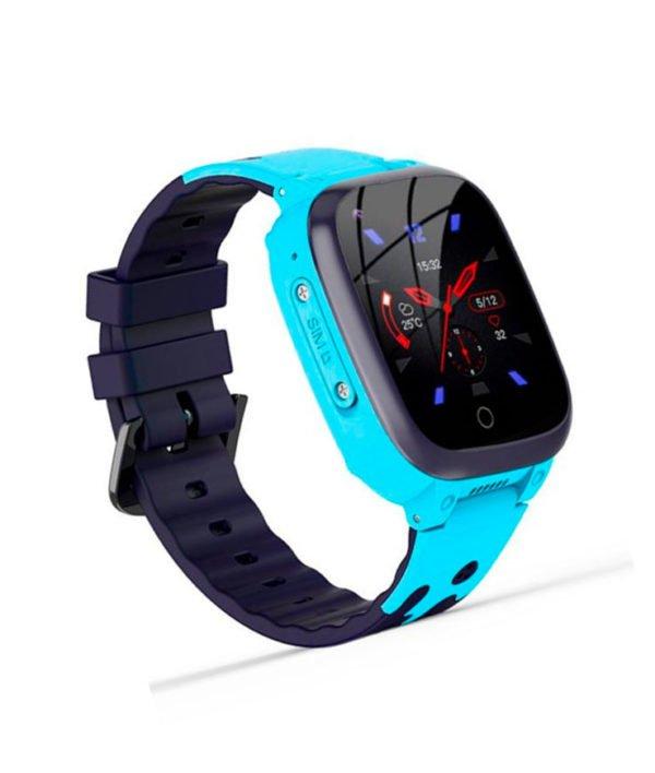 часы T8W с видеозвонком голубые