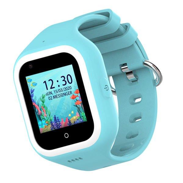 голубые smart watch KT21