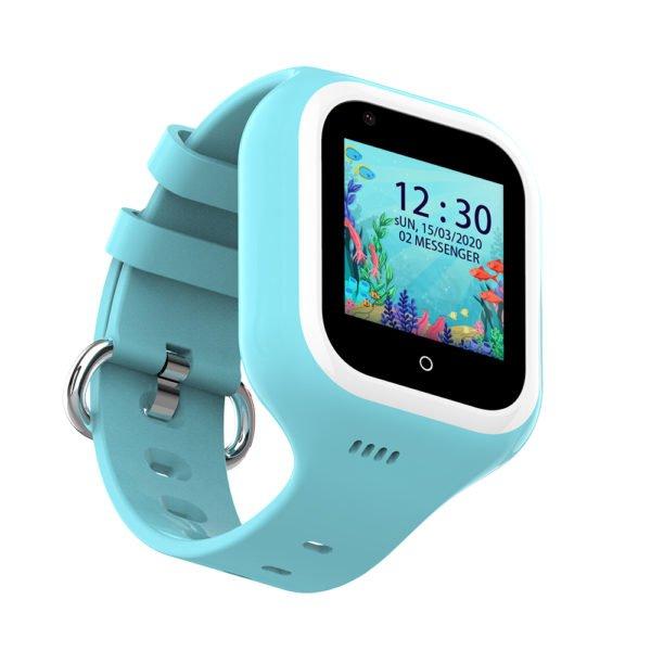 умные часы голубые KT21