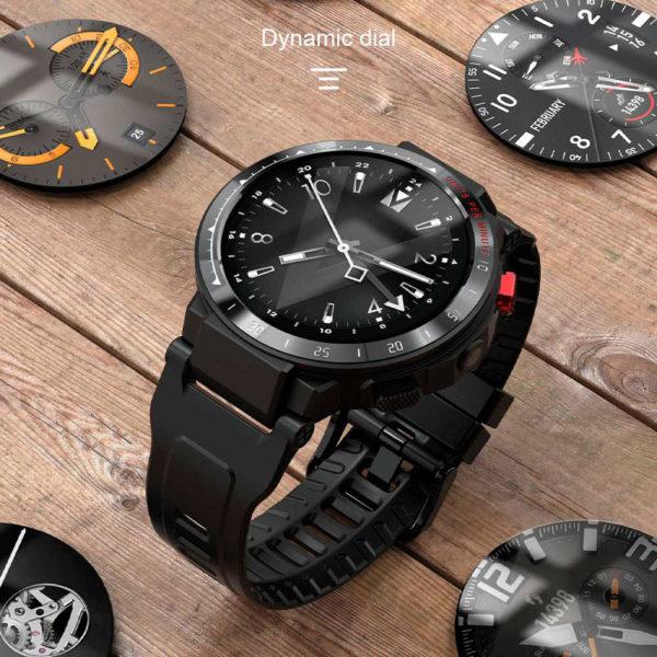 умные часы lemfo les4 с 4g